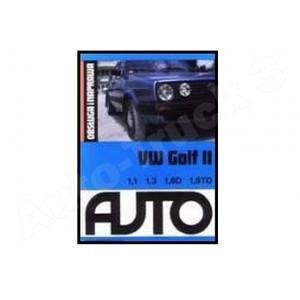 Książka VW Golf II 1.1/1.3/1.6D/1.6TD. Obsługa i naprawa