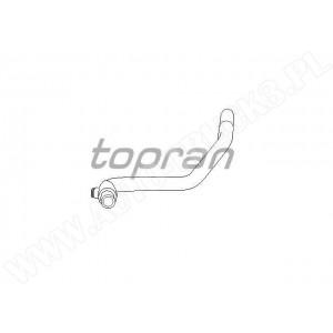 Wąż chłodnicy - wymiennik ciepła (nagrzewnica) Audi 80