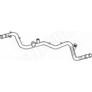 Rurka-przewód metalowy układu chłodzenia Seat Cordoba,Ibiza,Toledo,VW Golf III,Passat,Polo,Vento 1.8 91-97