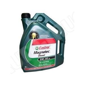Olej silnikowy syntetyczny Castrol Magnatec 5W40 Diesel C3 5L