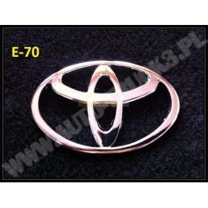 Emblemat , logo Toyota , emblematy samochodowe na karoserię , znaczki samochodowe, logo do Toyoty