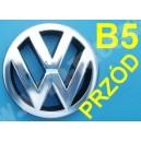 Emblemat Volkswagen, logo VW Passat B5 na przód
