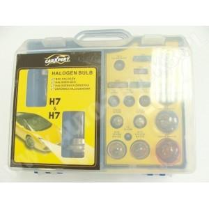 Zestaw żarówek H7 - H7 w eleganckim pudełku