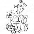 Obudowa czujników przy głowicy,korpus-obudowa termostatu VW GOLF II,Jetta,POLO 8/85-7/90r 1.05-1.3