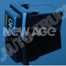 Przełącznik - włącznik świateł przeciwmgielnych 12V 16A samochodowy,podświetlany-UNIWERSALNY