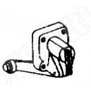 Pokrywa pompki przyspieszacza gaźnika Skoda 105,120,130